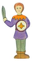 Holztiger Boy, Purple Shirt