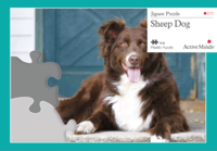 13 piece sheep dog jigsaw