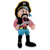 Pirate hand puppet