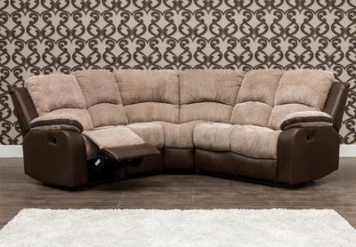 Milton Fabric Corner Sofa 2