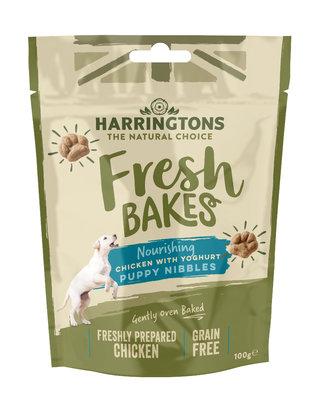 Harringtons Fresh Bakes Puppy Nibbles 100g x 9
