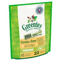 Greenies Original GRAIN FREE Dental Treats - Petite 170g x 1