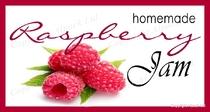 Raspberry Jam Label *Exclusive*