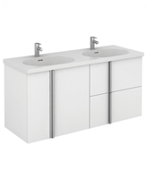 Sonas Avila White 120cm Wall Hung Vanity Unit