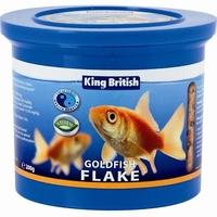 King British Goldfish Flake 200g x 1