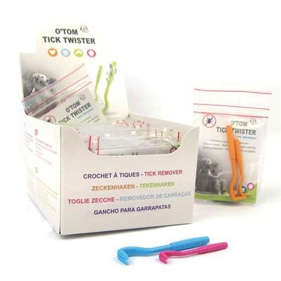 O'Tom Tick Twister - Minigrip Bag Assorted Colours (20)