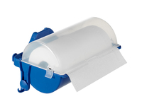 PLASTIC PAPER HOLDER WITH COVER