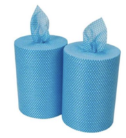 25x25 All Purpose Roll Blue, 6/Case