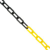 8mm Chain 25m Yellow/Black