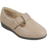 Cosyfeet Taupe Ladies Shoe (Catherine)
