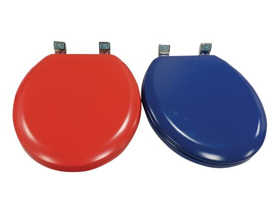 coloured soft close toilet seat. Red toilet seat Soft Close Toilet Seat  Homecare Medical Supplies