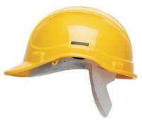 YELLOW Elite Scott Protector Safety Helmet