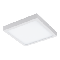 EGLO Fueva 1 LED White Square Ceiling Light LED 22w 3000k | LV1902.0065