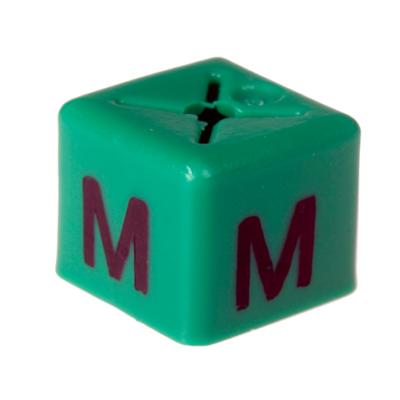 SHOPWORX CUBEX 'Size M' Size cubes - Green (Pack 50)