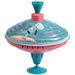 Astro robot spinning top toy