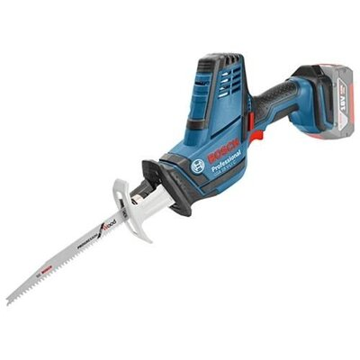 Bosch GSA18VLIC-N 18V Compact Reciprocating Saw 0-3050spm Bare Unit C/W L-boxx (Ploughing special offer)
