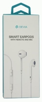 Devia Earpods Earphones in White