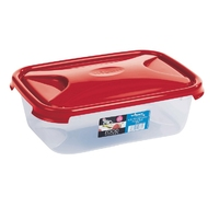 Cuisine 4.5ltr Food Storage Box Chili Red Lid