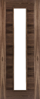 DEANTA HP16 UNGLAZED WALNUT DOOR 1981MM X 838MM X 45MM FD30