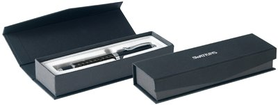 Carbon Finish Roller Ball Pen in Box