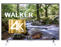 "Walker 43"" Ultra HD 4K HDR Smart LED TV with Satellite Tuner  - Saorview Approved"
