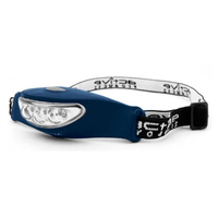 3 LED Rubber Head Torch