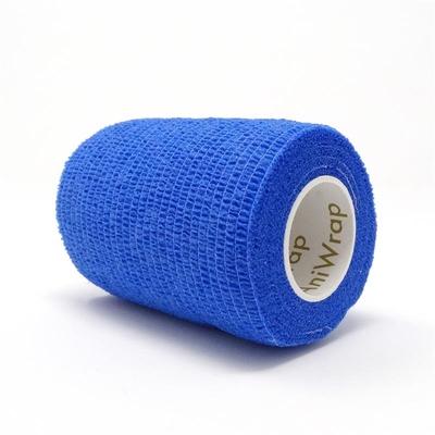 Purfect Aniwrap Cohesive Bandage Plain Blue 5cm