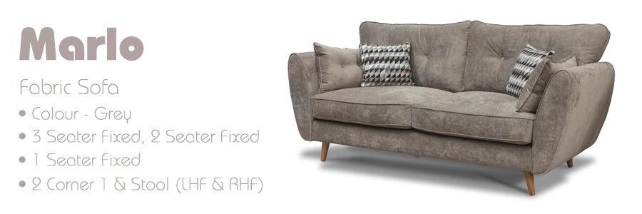 Marlo Fabric Sofa