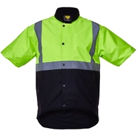 CT Oilskin Short Sleeve Vest Hi Vis Day/Night