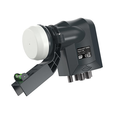 Labgear Hybrid LNB 6-output with Sky compatible bracket