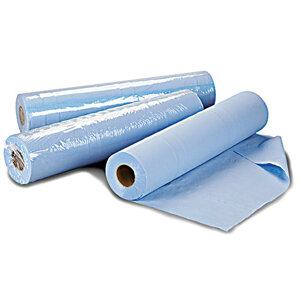 Hygiene Wiper Roll Blue 3 Ply 50cmx36m