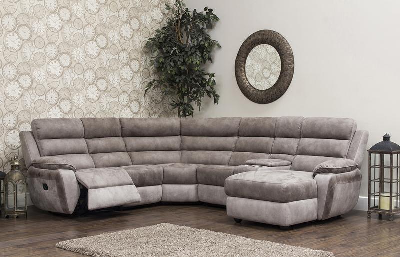 Urban Modular Sofa Brown Grey Sofa House