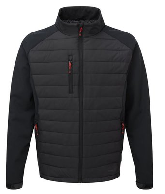 "TuffStuff Snape Jacket Black/Grey Large (44-46"")"