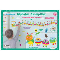 Alphabet Caterpillar Wall Stickers