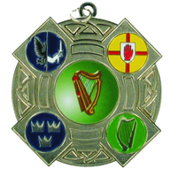60mm 4 Province Medallion (Silver)