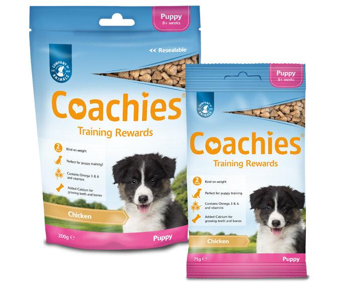 Coachies Puppy Treats 75g