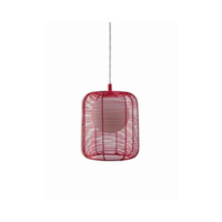 DEBUSSY PENDANT RED 60W E27 (NO BULB INCLUDED)