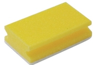 SPONGE/SCOURER NON-SCRATCH YELLOW