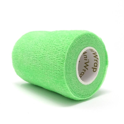 Purfect Aniwrap Cohesive Bandage Fluorescent Green 5cm