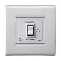 QED In-Wall Two Way Speaker Switch-Series
