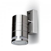 IP44 Glass GU10 1 Way Wall Light