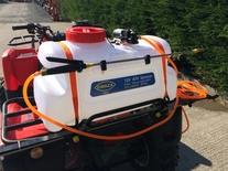 Sprayer ATV with lance and 1.8m boom 100L tank