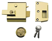 YALE NIGHTLATCH BRASSLUX
