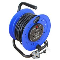 CABLE REEL 25MT TWIN 13A SKT(4510092)