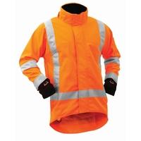 Bison Stamina Hi Vis TTMC-W Softshell Jacket