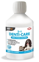 VETIQ 2 in 1 Denti-Care Oral Hygiene Solution 250ml x 1