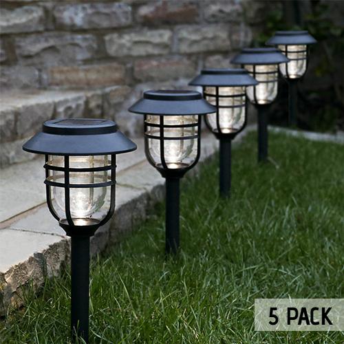 Solar Avant Stake Light 5 Pack