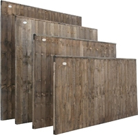 Closeboard Panel Dip Treated 1.83m(W) x 900mm(H)