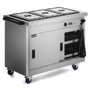 Lincat P6B3 Hot Cupboard Static with Bain Marie Top