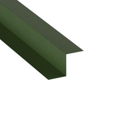 3.000m long, Slip Flashing, 25mm x 30mm x 25mm, Plastic Coated